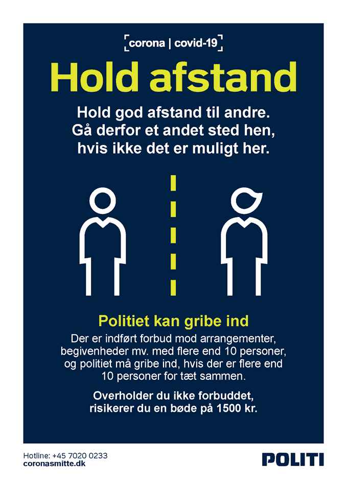 Hold afstand!